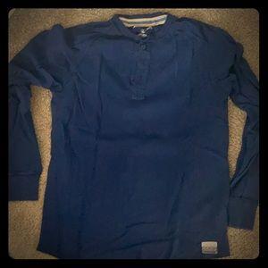 Eddie Bauer long sleeve blue - never worn!